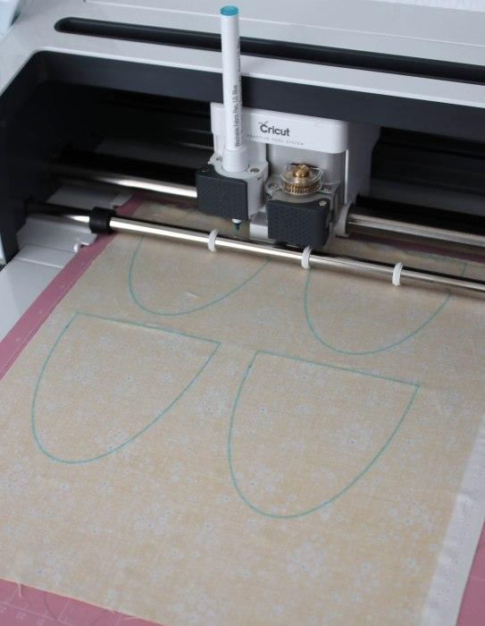 Cricut Maker cutter at work