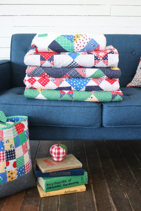 New Quilts from Amy Smart using Sunnyside Ave Fabric