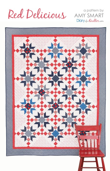 Red Delicious Quilt Pattern by Amy Smart