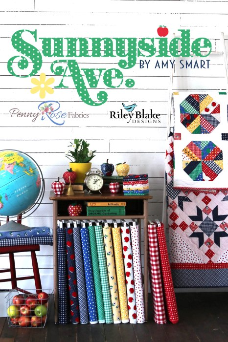 Sunnyside Ave fabric and quilts collection