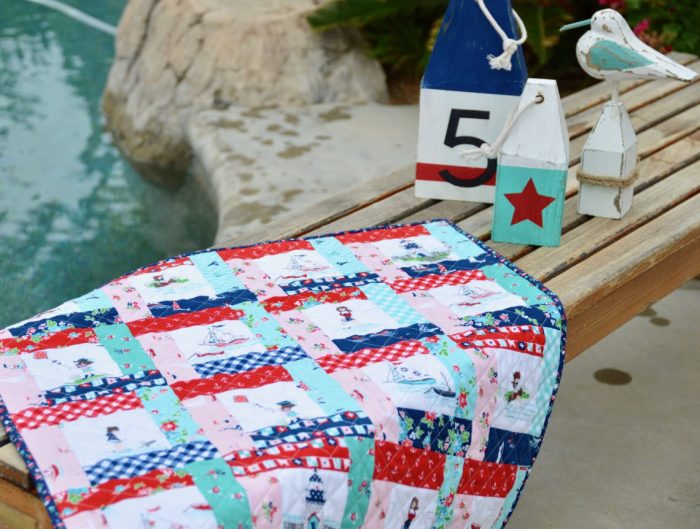 Riley Blake Seaside Mini Quilt