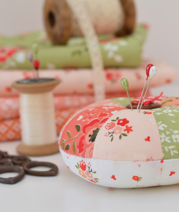 Summer Blush Pincushion