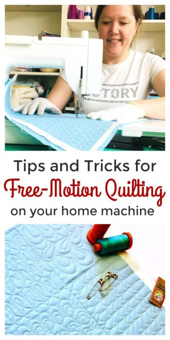 Tips for Free Motion Quilting on your Home Machine