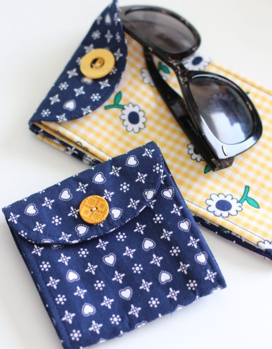 Double Pocket pouch by Indygo Junction