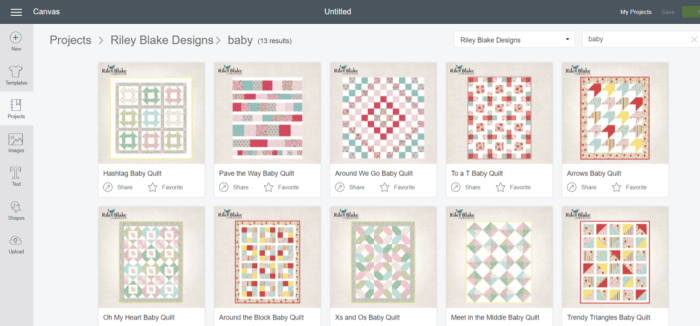 Introducing: Riley Blake Quilt Kits for the Cricut Maker