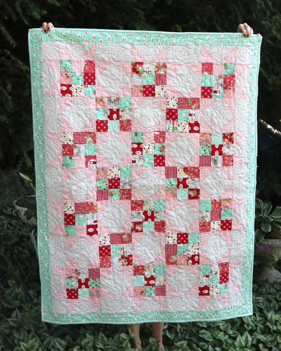Scrappy Nines Baby Quilt Tutorial Diary Of A Quilter A Quilt Blog