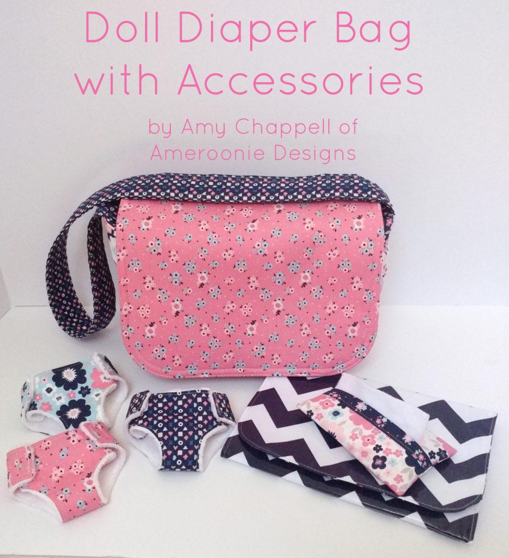 Doll Diaper Bag Accessories Tutorial