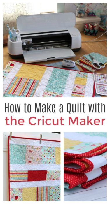 How to Make a Quilt with the Cricut Maker