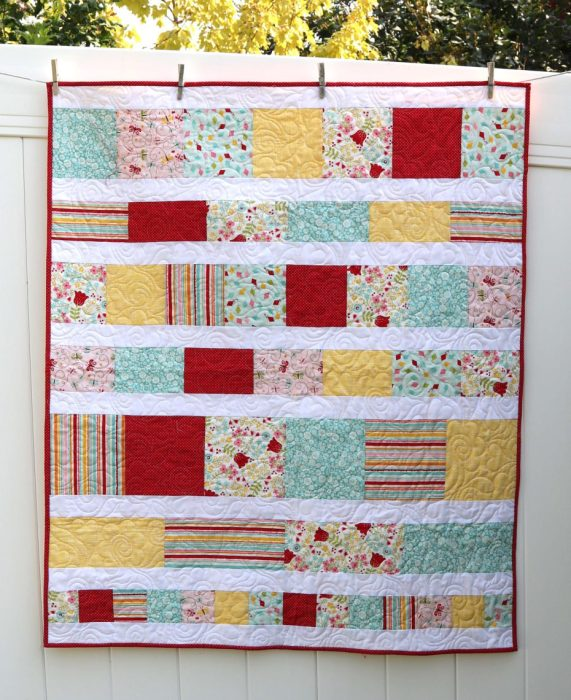Finishing A Quilt With Riley Blake And The Cricut Maker Diary Of A