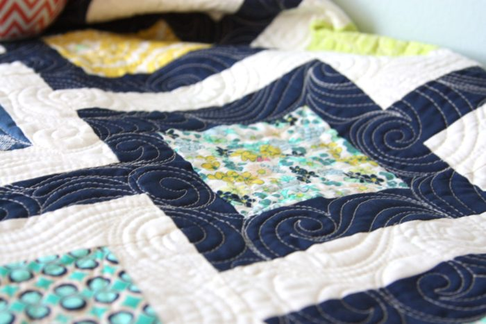 Custom quilting from Sew Shabby Quilting