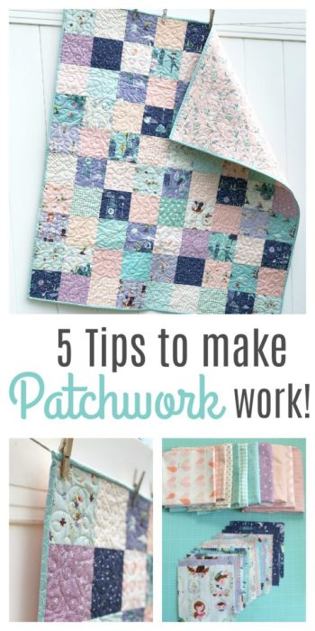 5 Tips to Make your Patchwork better