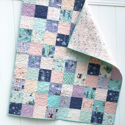 Use your Stash + Charm squares for beautiful patchwork quilts