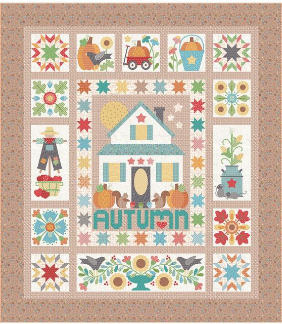 Lori Hot Autumn Love Quilt Pattern