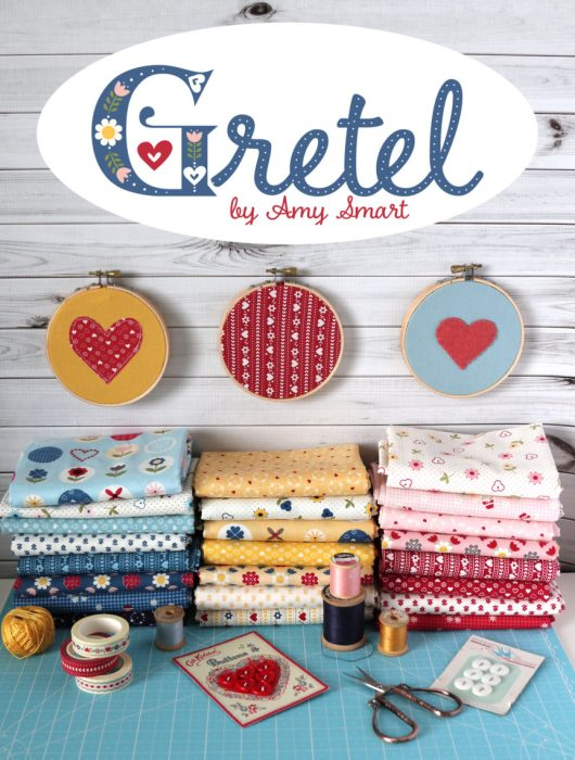 Gretel fabric collection by Amy Smart for Penny Rose and Riley Blake Designs. Coming November 2018