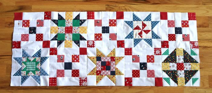 Sampler quilt free pattern from Amy Smart