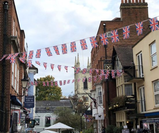 Union Jack Flags, Windsor