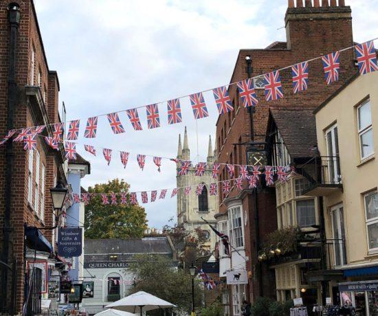 Union Jack Flags, Windsor