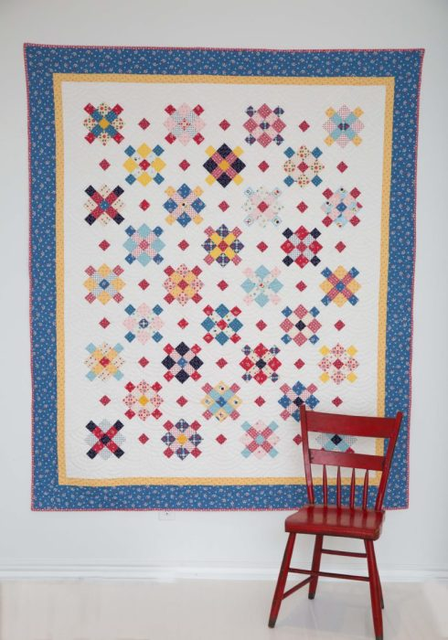 Fraulein Quilt Pattern by Amy Smart