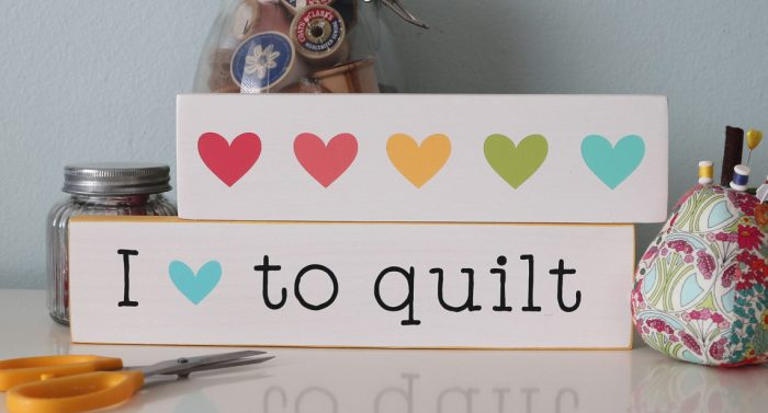 Wood Signs - Gift Ideas for Quilters