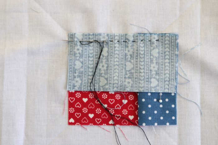 How to Make a Manx Quilt Block featured by top US quilting blog, Diary of a Quilter