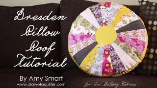 Dresden Pillow Tutorial
