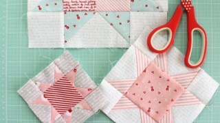 Fast Flying Geese + Sawtooth Star Quilt Block Tutorial