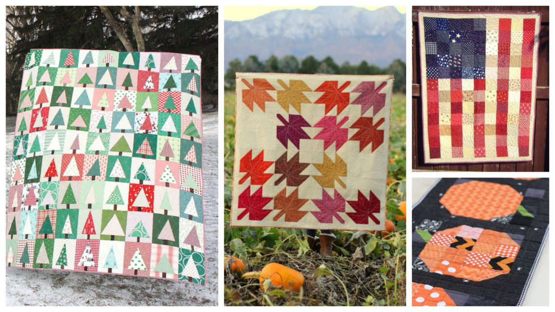 Seasonal Quilt Tutorials by Amy Smart