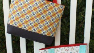 Simple Sturdy Tote Bag tutorial