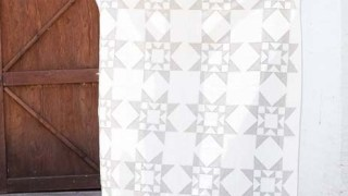 Two Tone Star Quilt Block Pattern