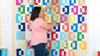 Tutorial: Spray Basting a Quilt