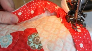 Bias Bindings and rounded quilt corners 101