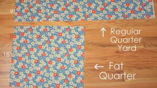 What is a Fat Quarter?
