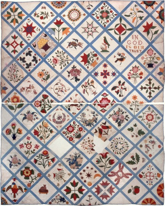 The Tale of a Pioneer Quilt, Cut in Two | quilting | Diary