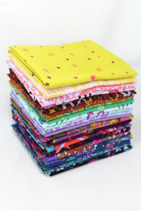 Shop Sale from Sew Shabby Quilting + Giveaway by popular Utah quilting blog, Diary of a Quilter: image of a fabric stack.
