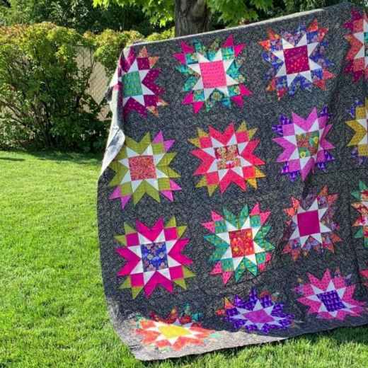 Astral Quilt Kit from Sew Shabby Quilting