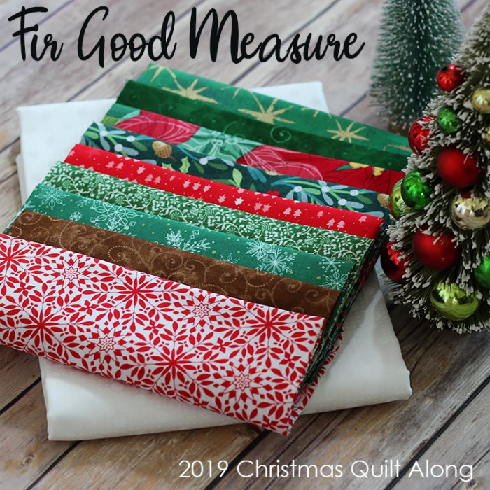 Meet updated Fort Worth Fabric Studio + Giveaway by popular Utah quilting blog, Diary of a Quilter: image of Fir Good Measure fabrics.