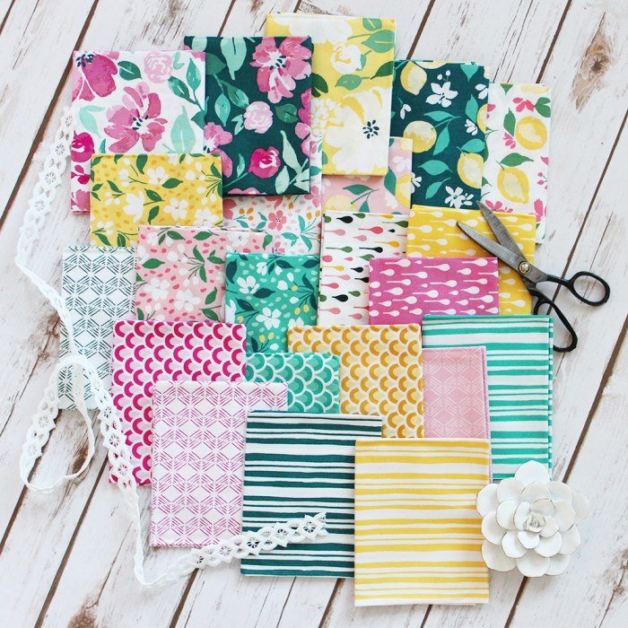 Meet updated Fort Worth Fabric Studio + Giveaway by popular Utah quilting blog, Diary of a Quilter: image of Pink Lemonade fabrics.