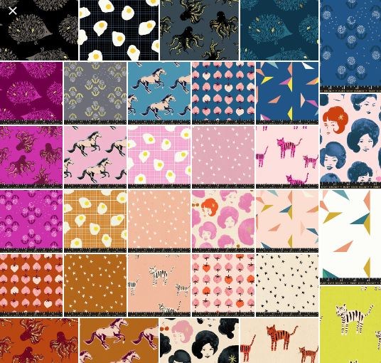 End of Year Clearance Quilting Sales For 2019 by popular Utah quilting blog, Diary of a Quilter: collage image of various fabrics.