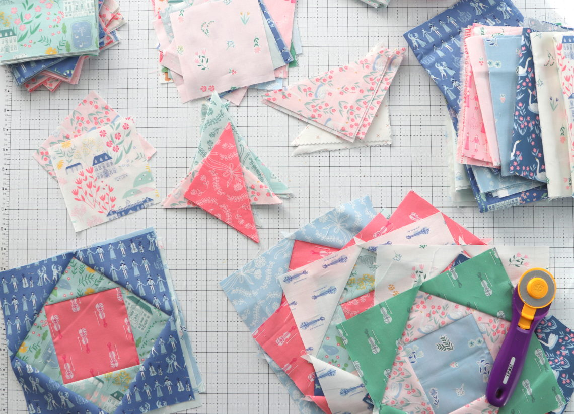 Cath Kidston Fabric Material 16 Large 16 Smaller Hearts Quilting Patchwork Sew
