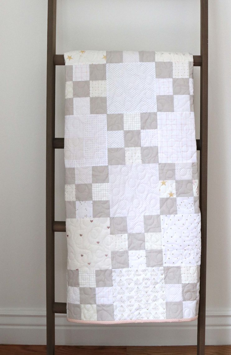 Irish Chain Nine-Patch Quilt Tutorial | Diary of a Quilter - a quilt blog