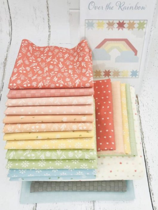 Rainbow Quilt Kit from Simply Love Fabrics