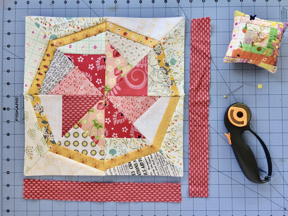 Tip: How to Resize a Quilt Block that is Too Small - Diary of a Quilter