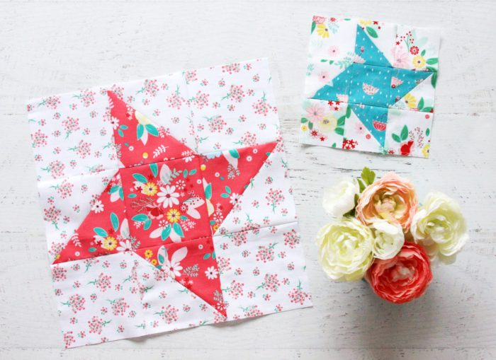 Frienship Star Quilt Block tutorial by Bev McCullough of Flamingo Toes