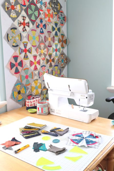 Baby Lock Crescendo Sewing machine - perfect for piecing quilt blocks