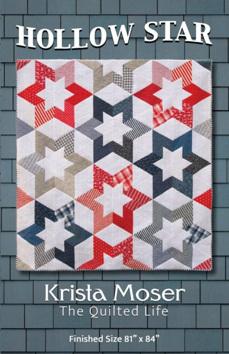 Hollow Star - patriotic quilt by Krista Moser