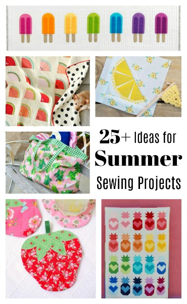 25 Ideas for Summer-themed Sewing Projects