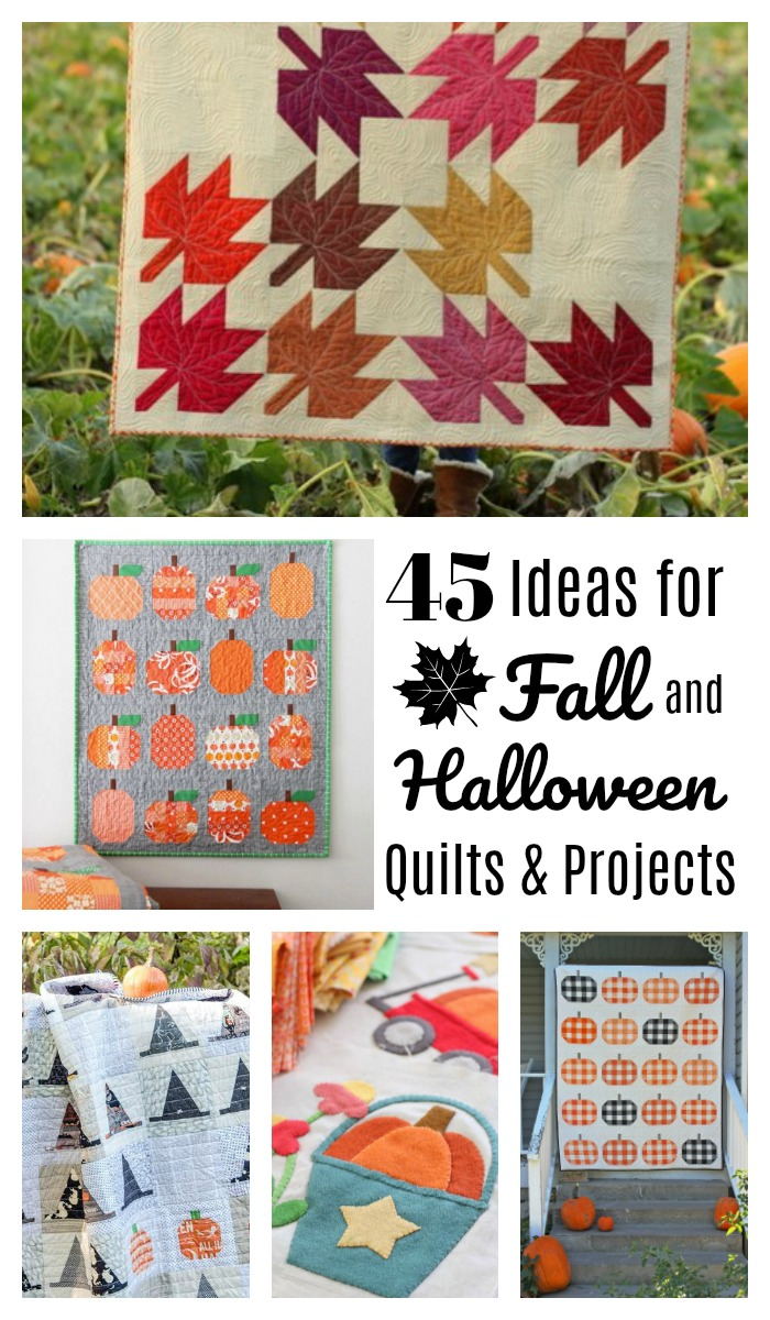 Fall-themed Sewing and Quilting Ideas