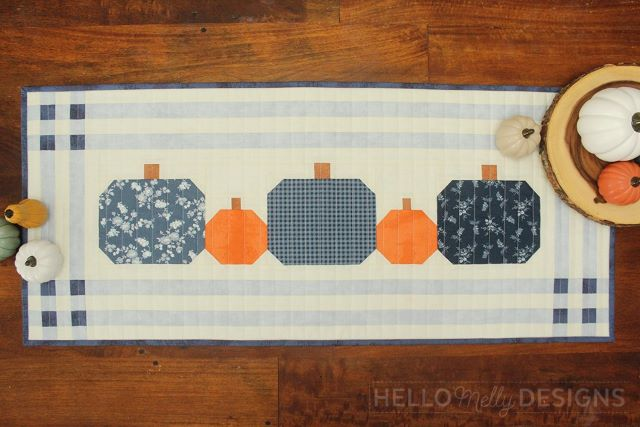 Free Fall Table Runner Tutorial from Hello Melly