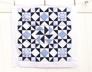 Chambray Blues quilt + Seasons to Taste pattern book
