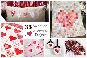 Valentines Day Sewing Projects